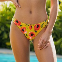 Tori Praver Mimi Ruched Cheeky Bikini Bottom | PacSun