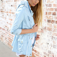 Chambray Anorak | SABO SKIRT