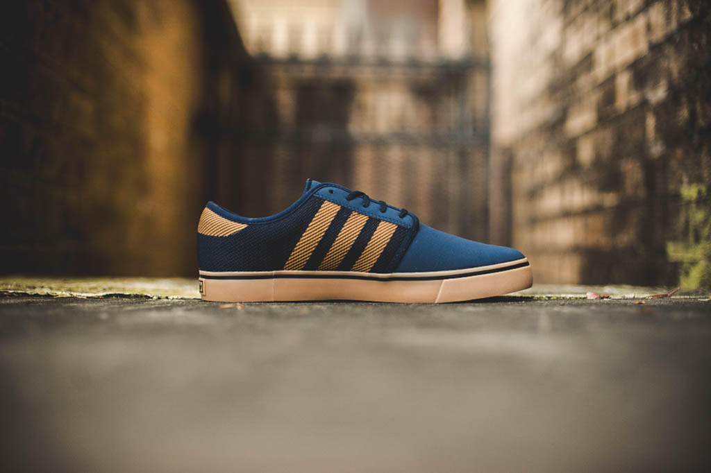 Adidas Seeley Woven -  Navy Gold  from sneakerpolitics.com 6572285ab9