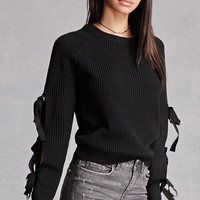 English Factory Cutout Sweater