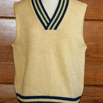 Vintage Robert Bruce Wool Sweater Vest