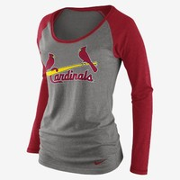 Check it out. I found this Nike Raglan Long-Sleeve 1.3 (MLB Cardinals) Women's T-Shirt at Nike online.