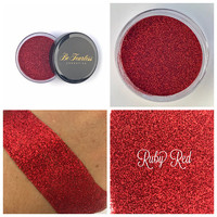 Ruby Red - Cosmetic Glitter, Loose Glitter