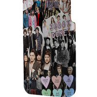 Best 3D Full Wrap Phone Case - Hard (PC) Cover with All Time Low Collage Art Design