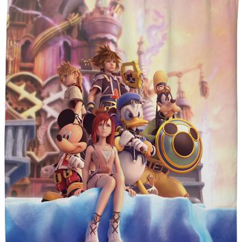 Kingdom Hearts Shower Curtain