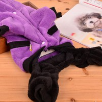 Funny  Clothes  Winter  Puppy  Clothes  Small  Jumpsuit