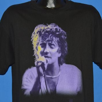90s Rod Stewart Unplugged And Seated MTV 1993 t-shirt Extra Large