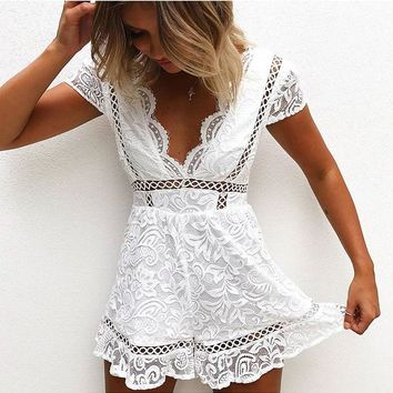 Belinda Bonita Detailed Romper