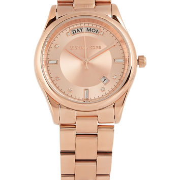 Michael Kors - Colette rose gold-tone watch