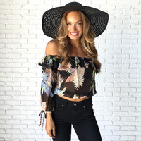 Tropic Thunder Off Shoulder Blouse