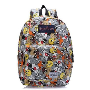 PEAPIX3 On Sale Comfort Stylish College Hot Deal Casual Back To School Anime Rabbit Pc Cartoons Backpack [4962071620]