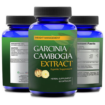 Totally Products Garcinia Cambogia 800mg HCA Natural Appetite Suppressant 60 Count - formula that melts away body fat