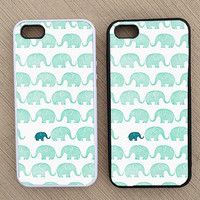 Cute Hipster Elephant iPhone Case, iPhone 5 Case, iPhone 4S Case, iPhone 4 Case - SKU: 174
