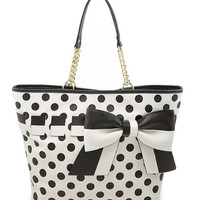 Betsey Johnson Gift Me Baby Large Tote
