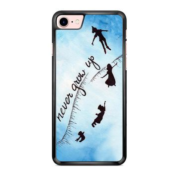 Peter Pan Never Grow Up 2 iPhone 7 Case