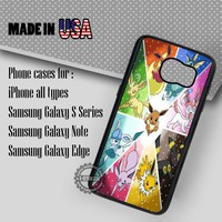 Samsung S7 Case - Vaporeon Pokeball Pokedex - iPhone Case #SamsungS7Case #Pokemon #yn