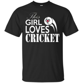 THIS GIRL LOVES CRICKET | Cricket Fans | Cricket Gifts