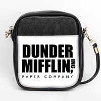 Dunder Mifflin The Office Michael Scott Cross Body Custom Purse Personalized Side Bag