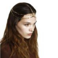 House of Harlow 1960 Five Strand Triangle Bead Headpiece