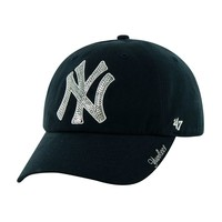 '47 Brand New York Yankees Sparkling Clean Up Adjustable Cap - Adult, Size: One Size (Blue)