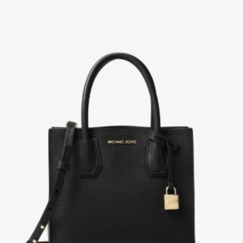 Mercer Medium Bonded-Leather Crossbody | Michael Kors