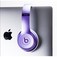Fashion Beats solo3 wireless Headphone wireless bluetooth headset Purple