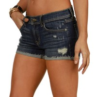 Promo- Dark Denim Low Ryder Shorts