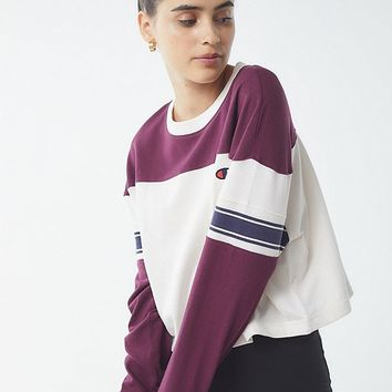 Champion Striped Long Sleeve Tee | Urban Outfitters