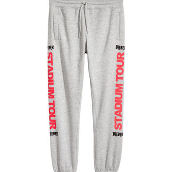 Sweatpants with Printed Motif - from H&M