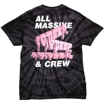 Tenth DVSN Massive Tie-Dye T-Shirt Black