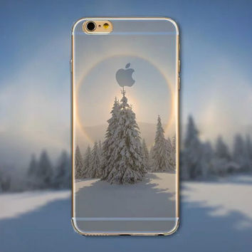 Snowfield  iPhone 5 5S iPhone 6 6S Plus creative case + Gift Box-125