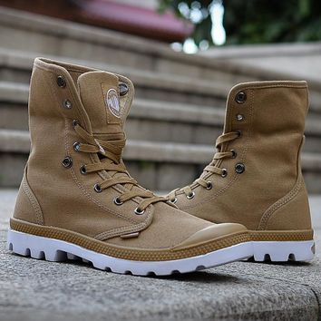 Palladium Pampa Hi Vl Boots For Women&men - Beauty Ticks