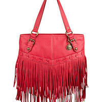 Vintage America Handbag, On The Fringe Large Tote - All Handbags - Handbags & Accessories - Macy's
