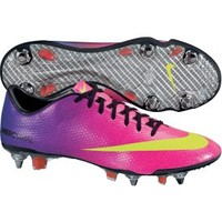 Nike Men's Mercurial Vapor IX SG PRO Soccer Cleat - Red/Purple | DICK'S Sporting Goods