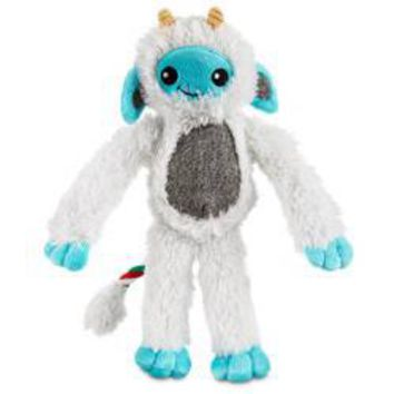 Petco Holiday Snow Monster Dog Toy
