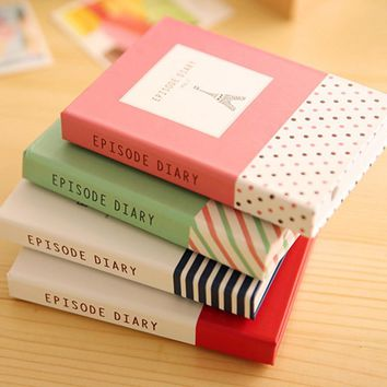 A080 Korea Stationery Originality Lovely Small Fresh Shell Notepad Group Combine Facilitate Subsidies Note Basis Bring Pen