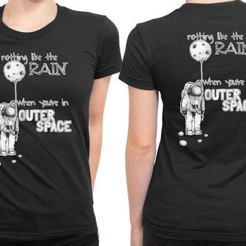 DCCKG72 5Sos Outer Space Lyrics 2 Sided Womens T Shirt