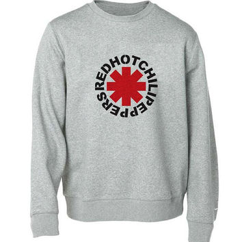Red Hot Chili Peppers Sweater Gray Sweatshirt Crewneck Men Or Women For Uni Size With Variant