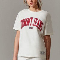 Tommy Jeans Oversized Collegiate Tee-1