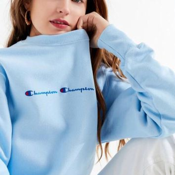 Champion Reverse Weave Graphic Sweatshirt