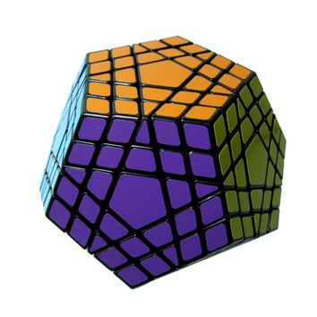 High Quality Megaminx Dodecahedron 12 Sided Speed Magic Cube 5 Layer Puzzle 5x5 Puzzle Educational Toys For Kids