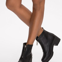 Front Zip Boot - Nly Shoes - Black - Everyday Shoes - Shoes - Women - Nelly.com