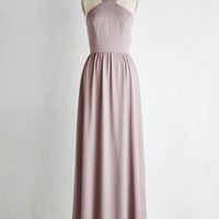 Long Sleeveless A-line Do as I Sway Dress