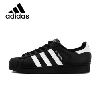 PEAPON ADIDAS Original  New Arrival Superstar Womens Skateboarding Shoes Mesh Breathable Light Leisure  For Women#B27140