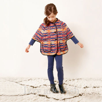 Anthem of the Ants Girls Native Sun Poncho