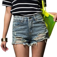Casual Short Jeans
