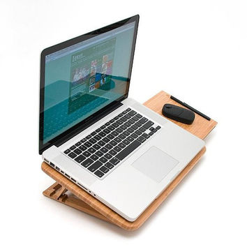 Mobile Bamboo Laptop Desk