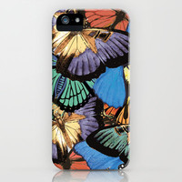 Butterflies iPhone Case by Brushnpaper