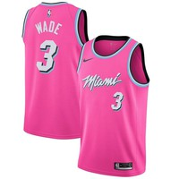 DWYANE WADE NIKE SUNSET VICE SWINGMAN JERSEY MIAMI HEAT - Best Deal Online