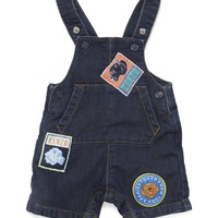 Kenzo - Baby Boy Babka Jeans Overalls With Patches